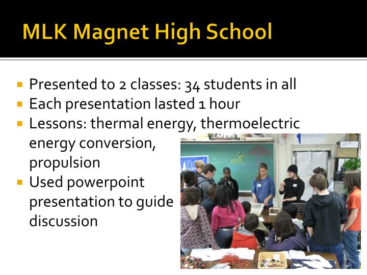 MLK Magnet High School