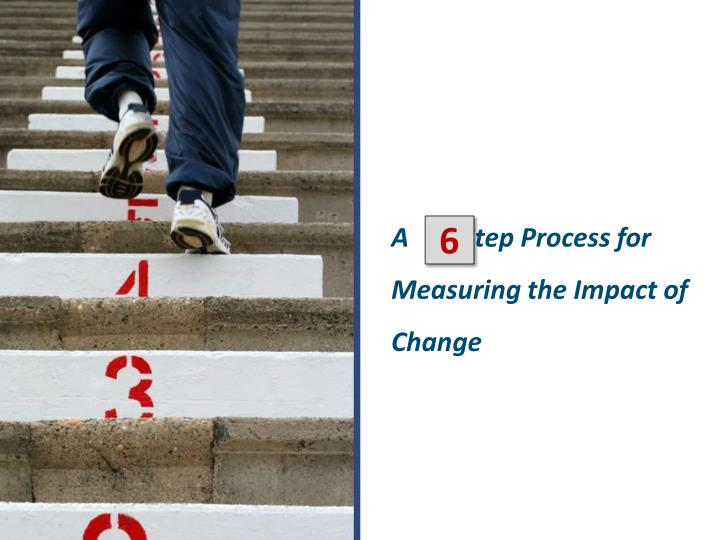 A        Step Process for Measuring the Impact of Change