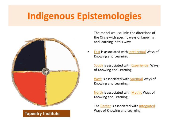 Indigenous Epistemologies