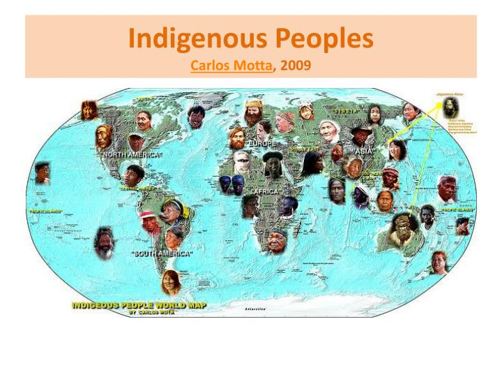 indigenous peoples carlos motta 2009