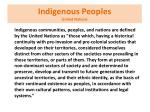 indigenous peoples united nations