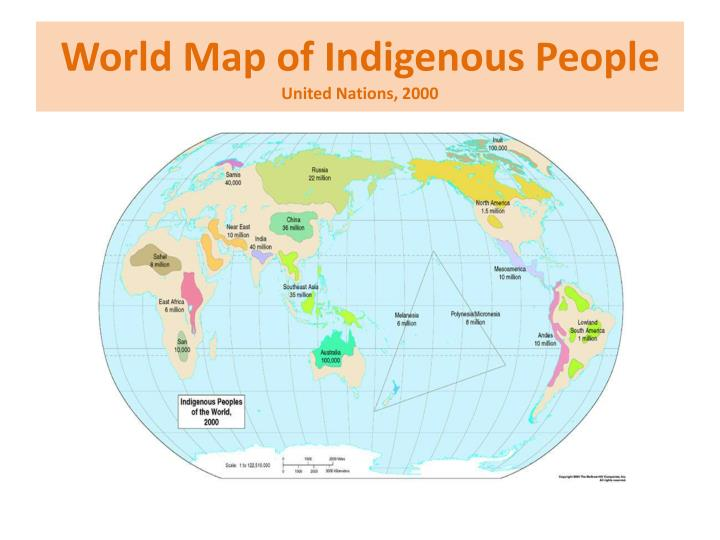 World Map of Indigenous People
