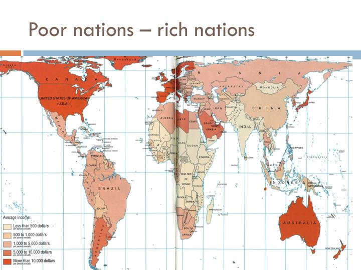 Poor nations – rich nations