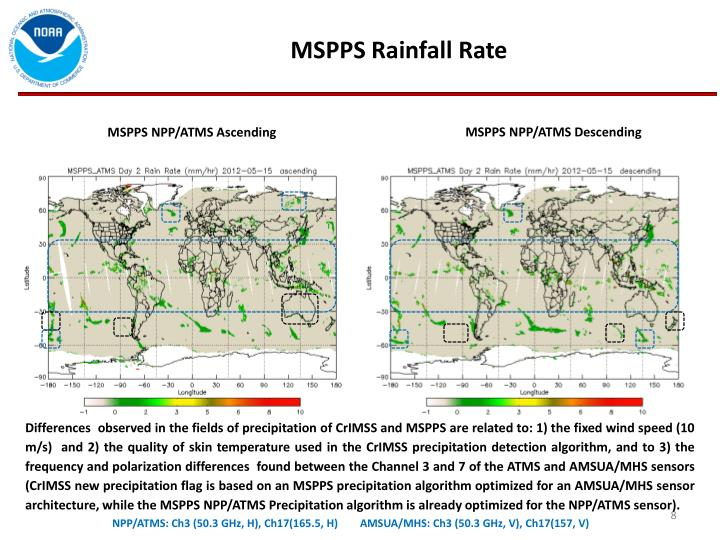 MSPPS Rainfall Rate