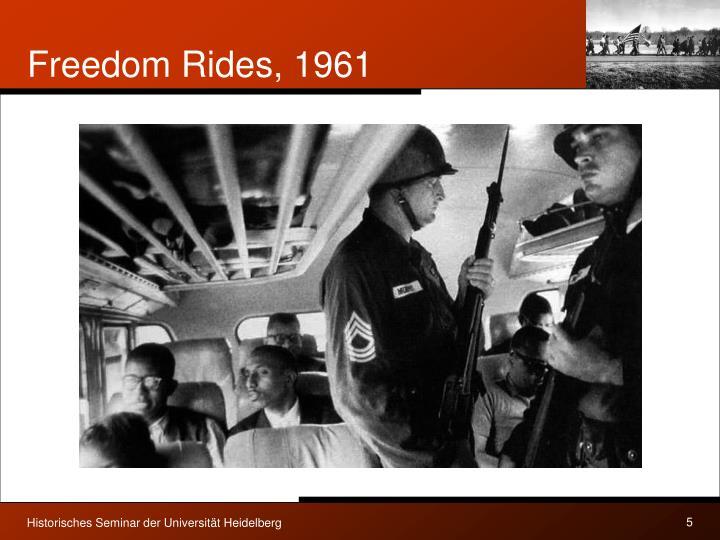 Freedom Rides, 1961