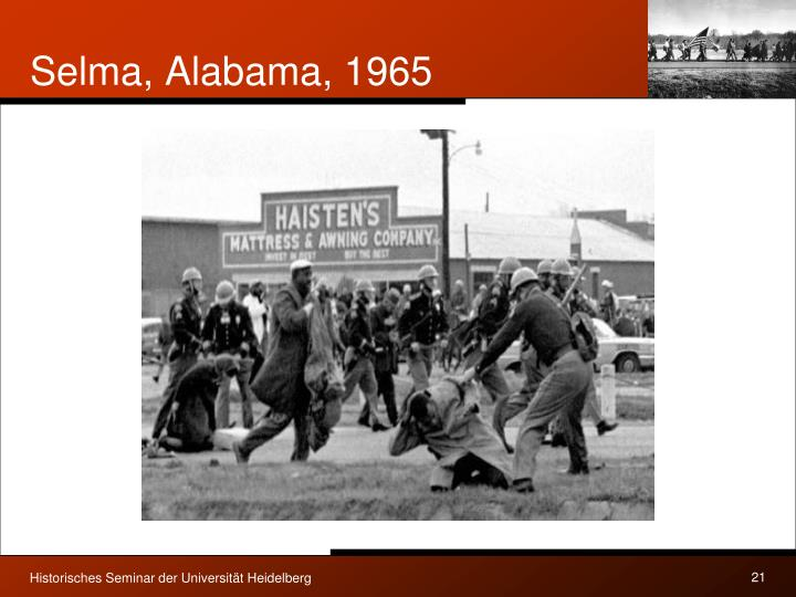 Selma, Alabama, 1965