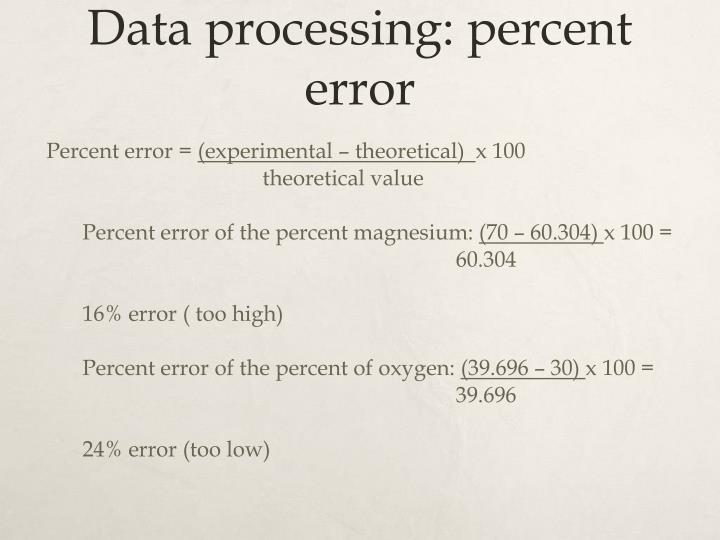 empirical formula of magnesium oxide essay