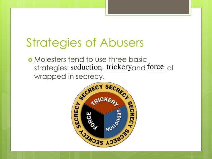 Strategies of Abusers