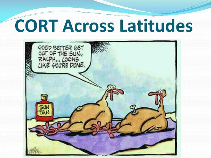 CORT Across Latitudes