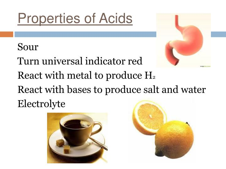 Properties of Acids