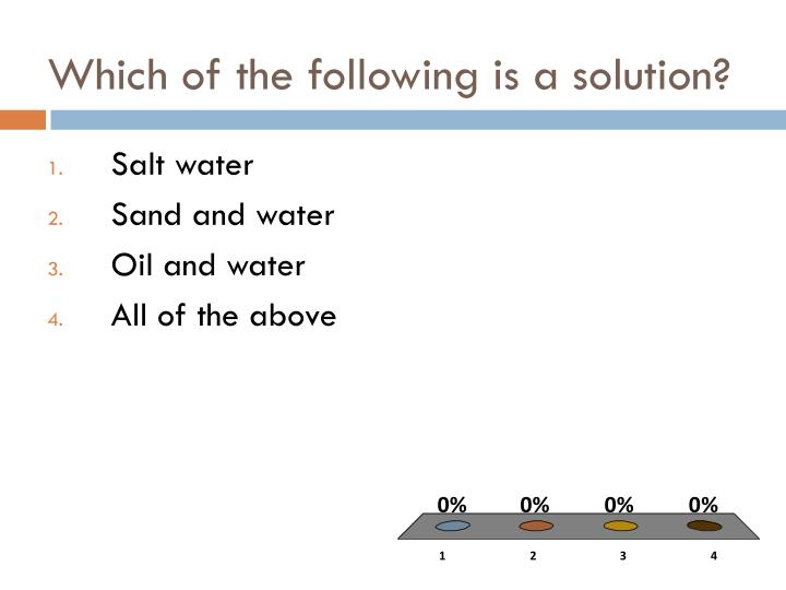 Which of the following is a solution?
