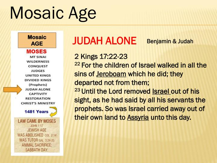 Mosaic Age