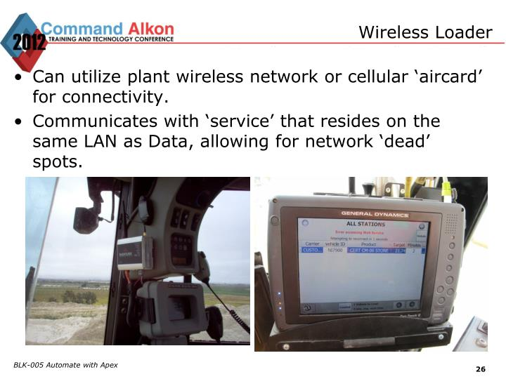 Wireless Loader