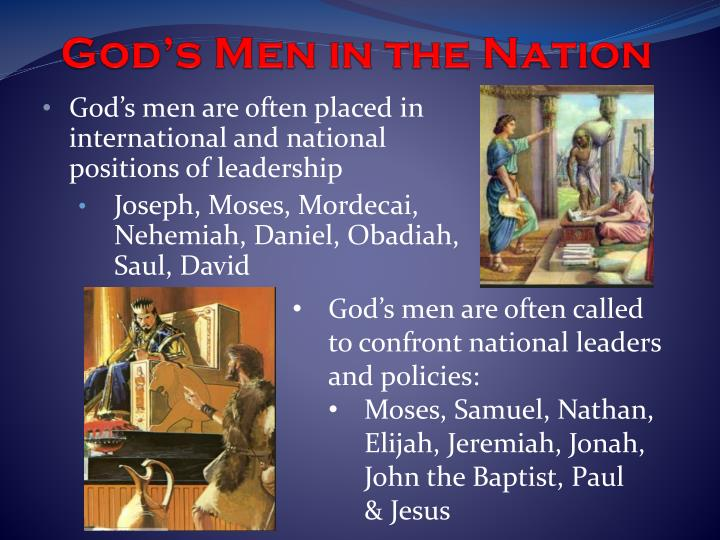 God's Men in the Nation