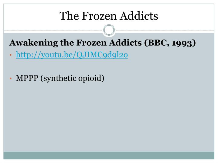 The Frozen Addicts