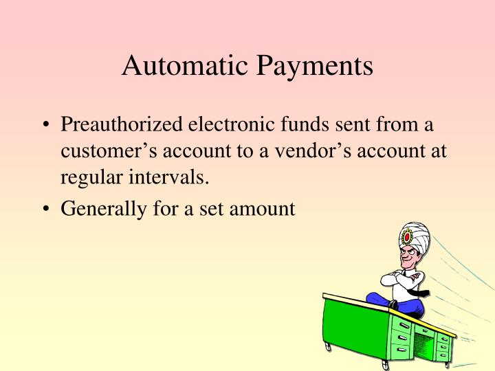 Automatic Payments