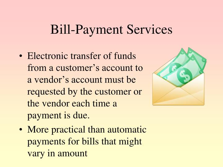 Bill-Payment Services