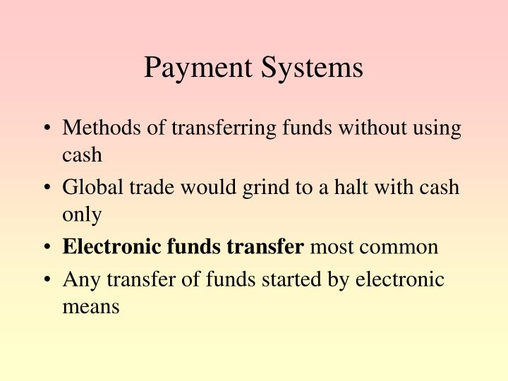 Payment Systems