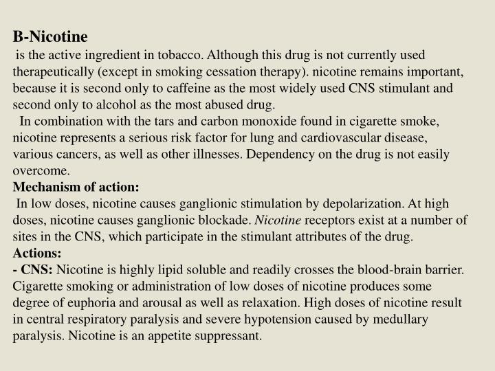 B-Nicotine