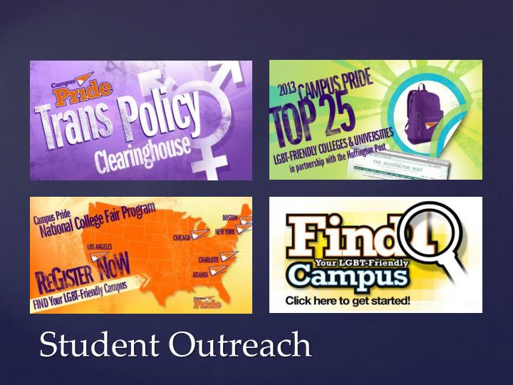 Student Outreach