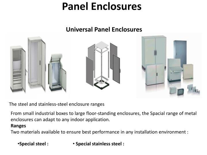 Panel Enclosures
