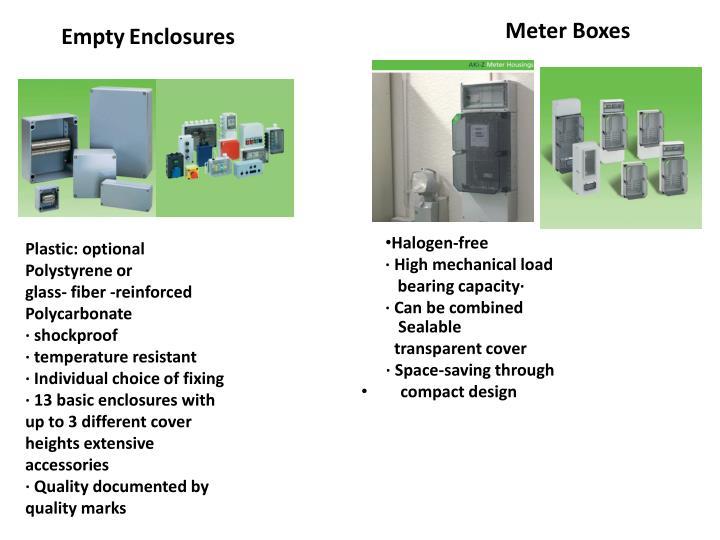 Meter Boxes