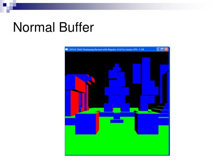 Normal Buffer