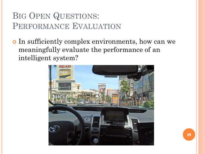 Big Open Questions: