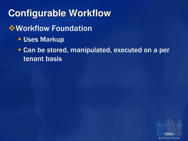 Configurable Workflow