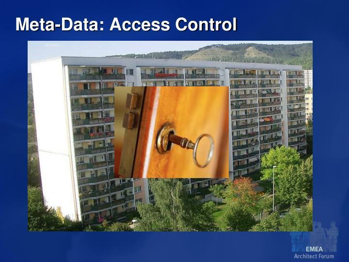 Meta-Data: Access Control