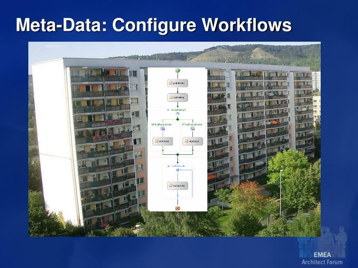 Meta-Data: Configure Workflows