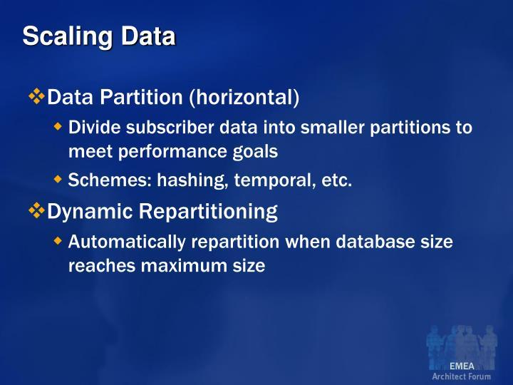 Scaling Data