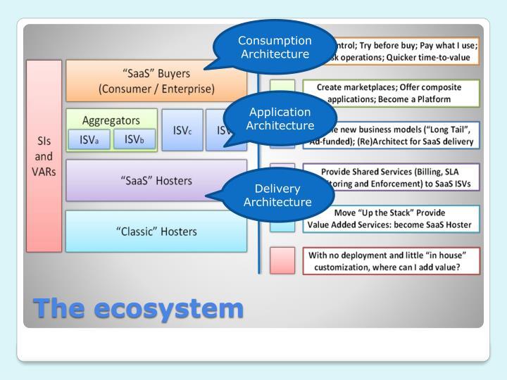 Consumption Architecture