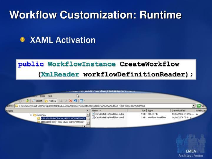XAML Activation