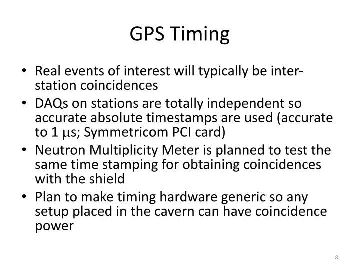 GPS Timing