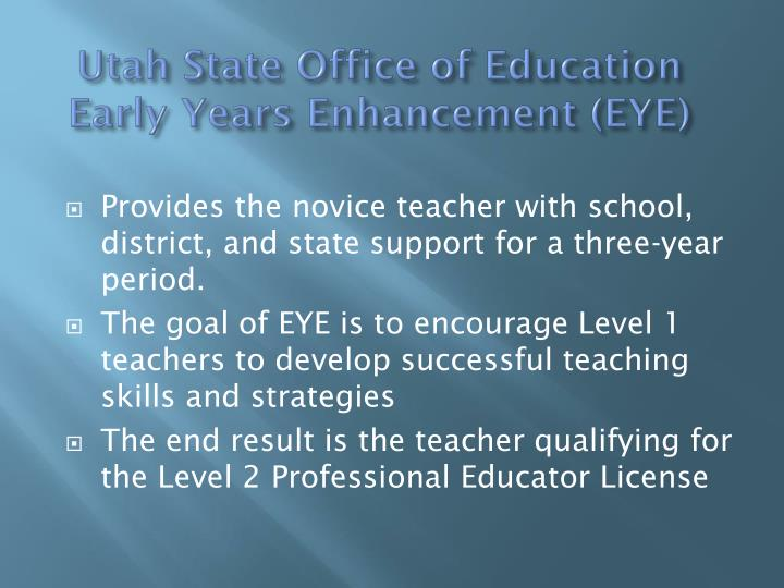 Utah State Office of Education