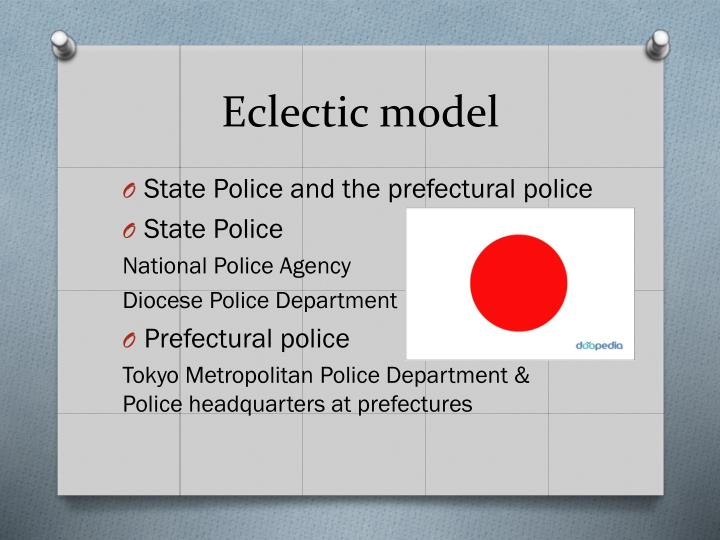 Eclectic model