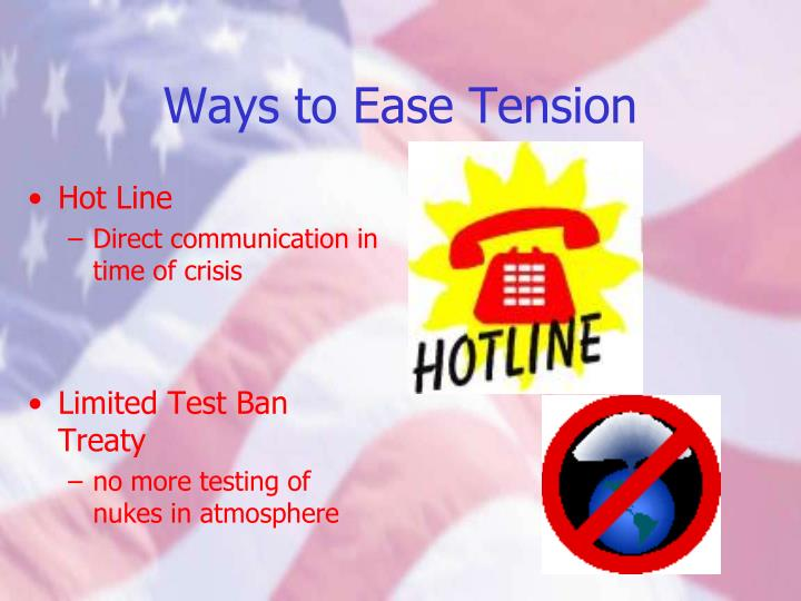 Ways to Ease Tension