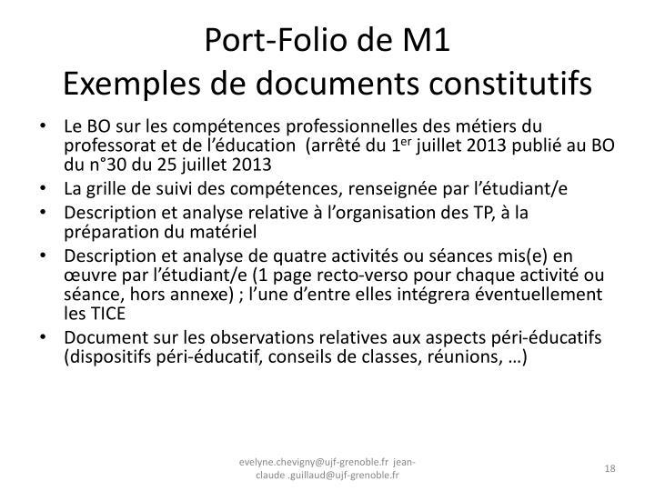 Port-Folio