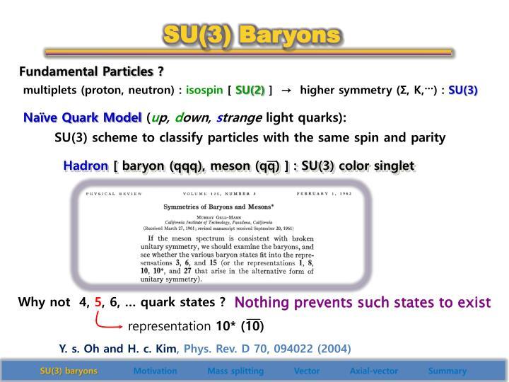 SU(3) Baryons