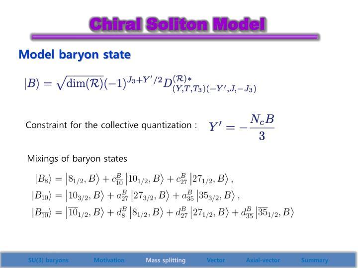 Mixings of baryon states
