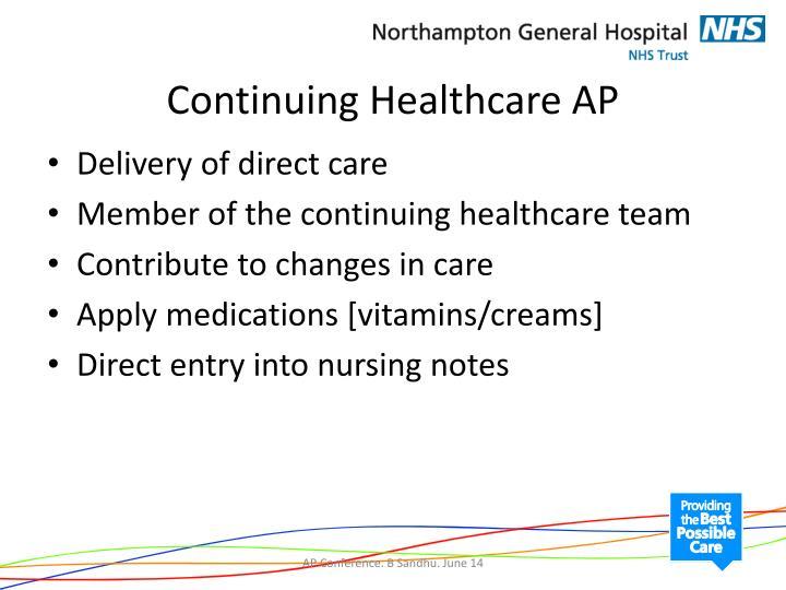 Continuing Healthcare AP