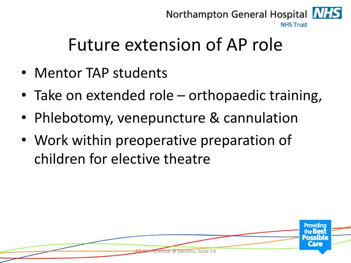 Future extension of AP role