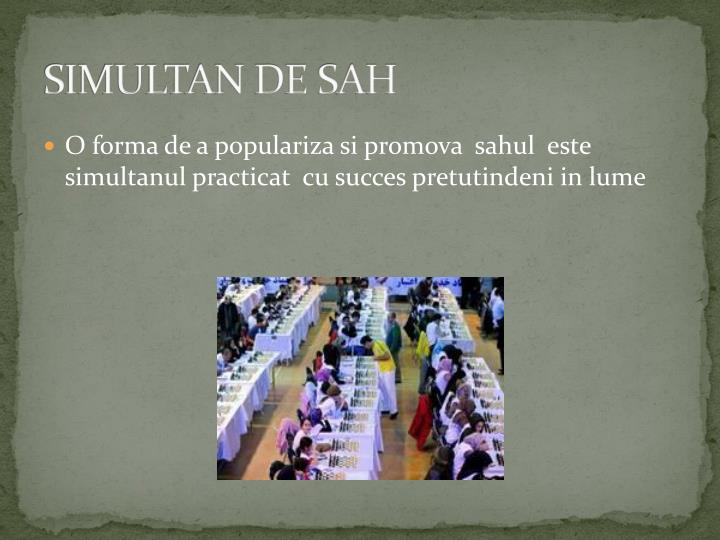 SIMULTAN DE SAH