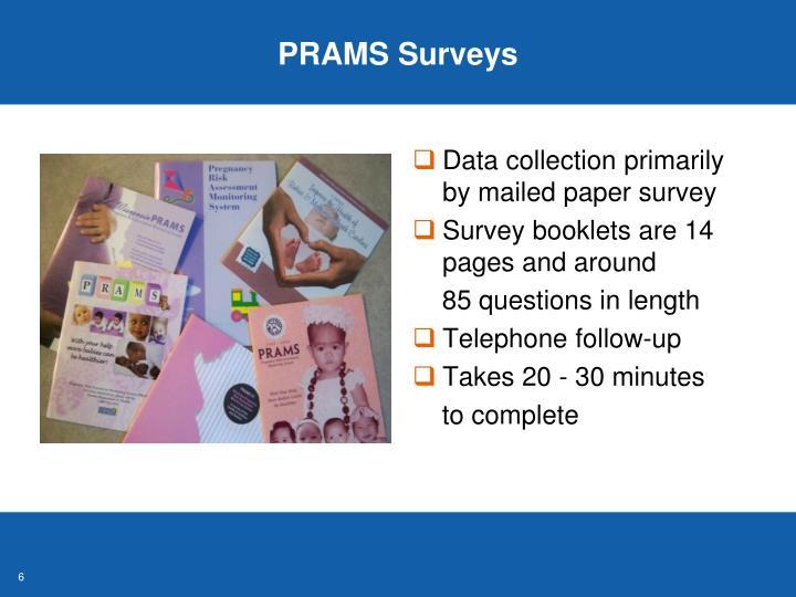 PRAMS Surveys