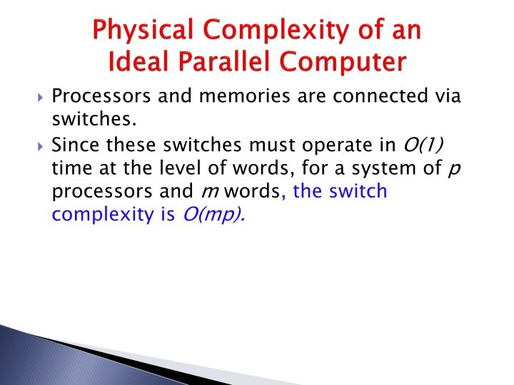 Physical Complexity of an