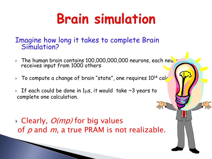Brain simulation
