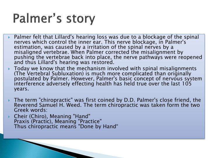 Palmer's story