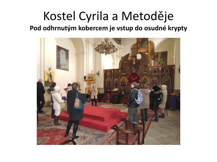 Kostel Cyrila a Metoděje