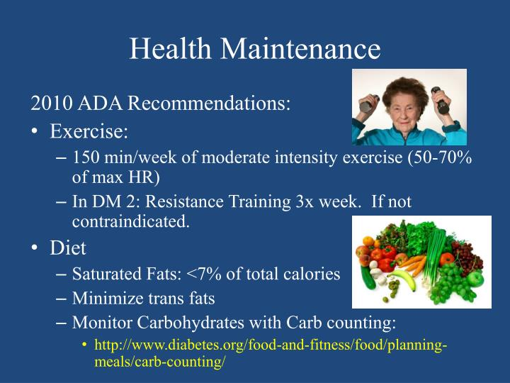 Health Maintenance